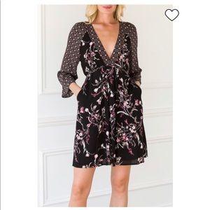 Mystree Floral Pocket Dress